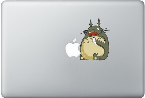 Shoply.com -totoro eat apple at youe macbook. Only $9.90