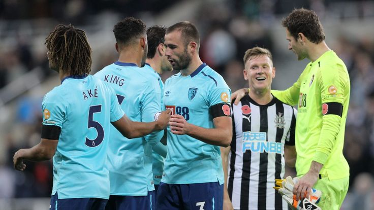 Steve Cook stuns Newcastle with late winner for Bournemouth #News #AFCBournemouth #Football #Newcastle