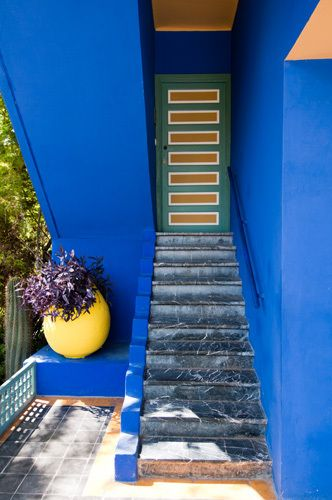 Majorelle Gardens, Marrakech, Morocco - art print by Sergio Pitamitz at kingandmcgaw.com