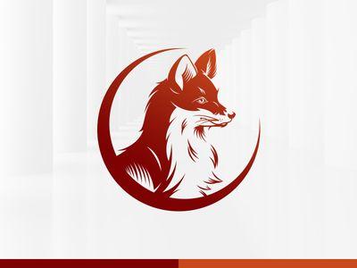 Media Fox Logo Template
