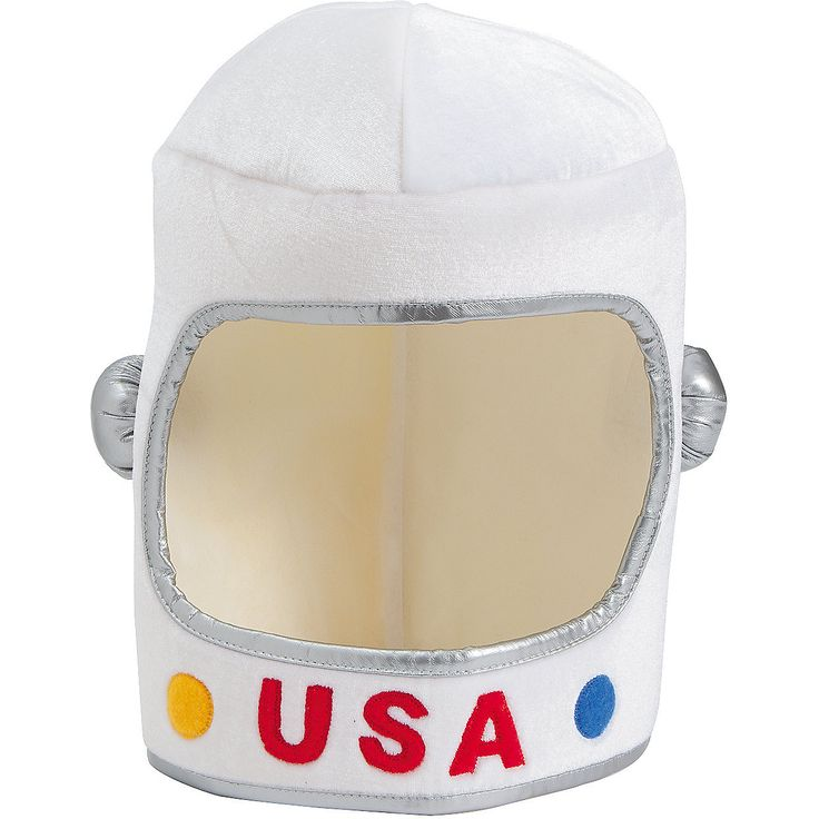 This Foam Astronaut Helmet is the perfect way to complete your costume.
