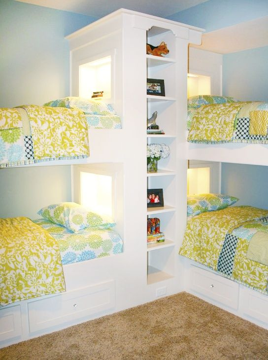 that'd be a good idea for a playroom for sleepovers and whatnot.