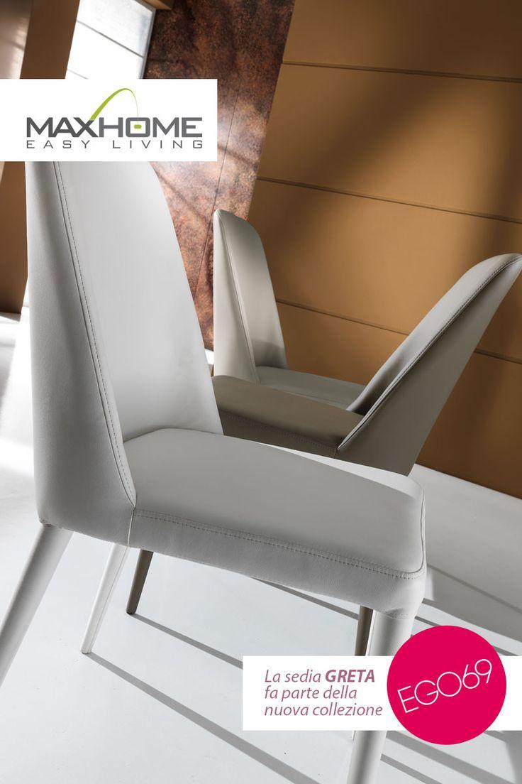 La sedia GRETA è caratterizzata da un look classico e raffinato, ma anche moderno e provocatore. Adatta a molteplici ambienti della vostra casa, Greta darà un tocco di eleganza e vivacità tale da valorizzare ogni living contemporaneo.