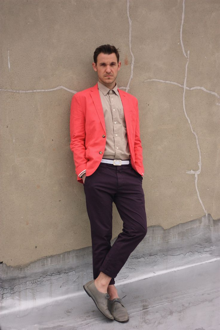 Salmon Colored Herringbone Blazer: Best 25+ Salmon Pants Ideas On Pinterest