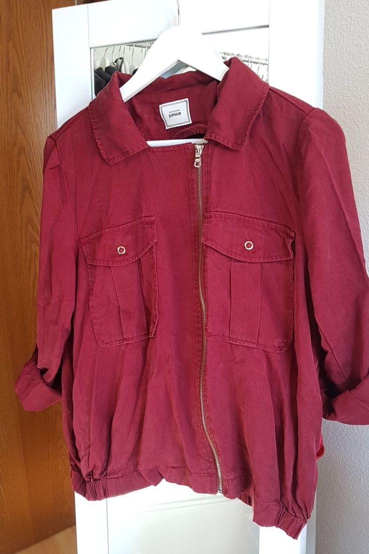 Coole rote Jacke