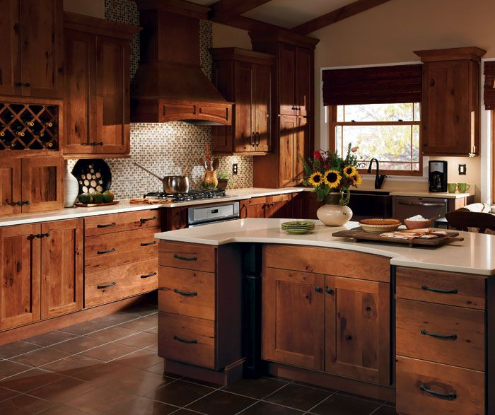 Rustic Kitchen Cabinets Are Beautiful Additions For Any Kitchen, Such As  Rustic Hickory Kitchen Cabinets. It Resembles A Classic Elegance And Sturdy  ... Part 48