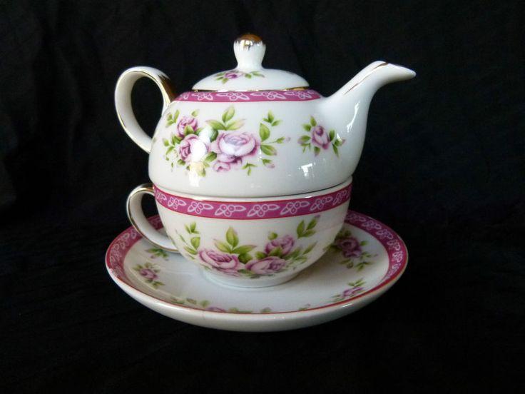 Adeline Porcellana Fine China Tea for One  #Adeline:):)