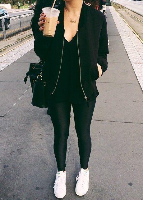 17 Best ideas about Black Leggings on Pinterest