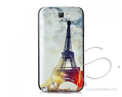 Retro Painting Series Samsung Galaxy Note 2 Cases N7100 - Eiffel Tower  http://www.dsstyles.com/samsung-galaxy-note-2-cases/retro-painting-series-n7100-eiffel-tower.html