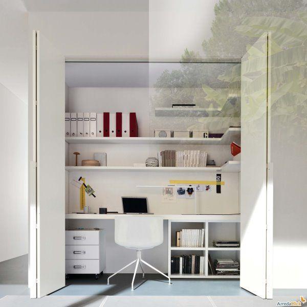 Oltre 25 fantastiche idee su arredamento nicchia su pinterest arte di nicchia decorazione - Arredamento studio casa ...