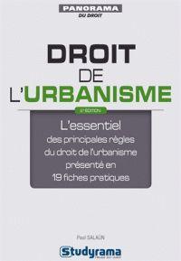 Paul Salaün - Droit de l'urbanisme. -RDC Cote : 346.045 SAL