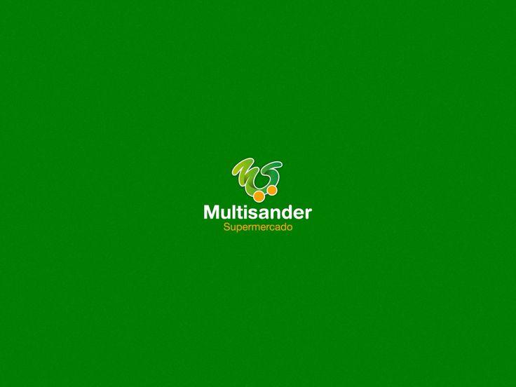 Al unir las iniciales con el concepto comercial de la empeda logramos este elaborado símbolo para la marca Multisander.
