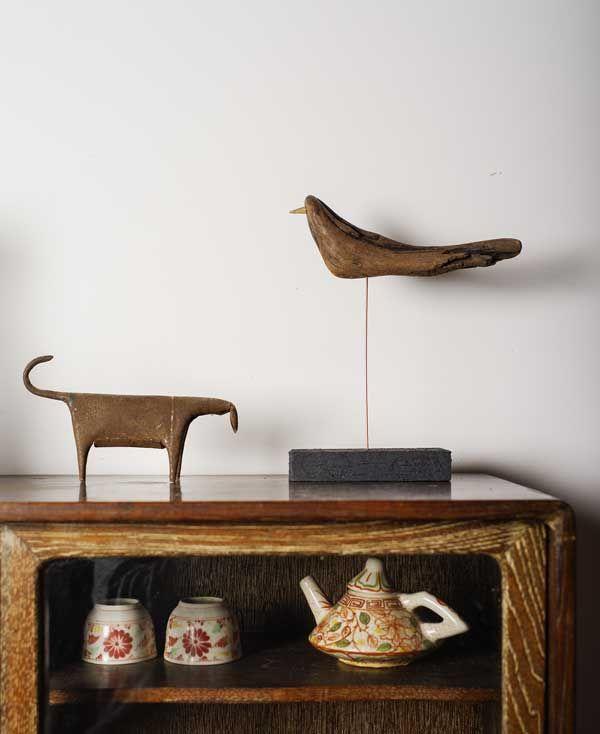 2016-流木の鳥ー4  ★  #流木の鳥 #流木オブジェ #流木 #流木アート #屋久島アート #インテリア #Driftwood Art #Interior