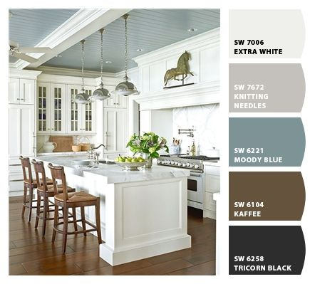 color palette #sherwin williams, I think this is almost exactly what I want throughout the house.