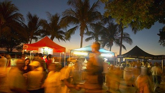 Mindil Beach Sunset Markets - Darwin Area - Northern Territory