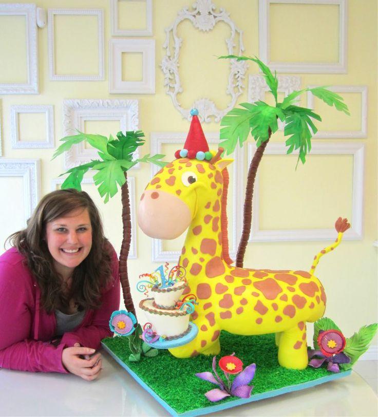1bc4f97823485ac32b1f4c41c0226d3b--giraffe-cakes-d-cakes Monkey Cookie Cutter Baby Shower