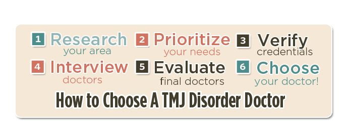 Choosing a Dentist or Doctor for TMJ Disorder #need #to #find #a #dentist http://dental.remmont.com/choosing-a-dentist-or-doctor-for-tmj-disorder-need-to-find-a-dentist-2/  #need to find a dentist # One of the most difficult parts of TMJ disorder treatment or any kind of medical treatment is finding a good doctor or dentist. The first thing that every patient should consider is their relationship with their primary care physician (PCP) or general practitioner (GP). If the PCP is a […]