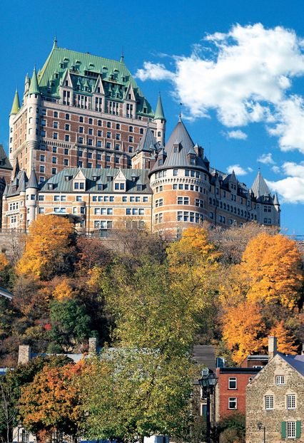 Best Comeback Winner: Fairmont Le Chateau Frontenac in Quebec City, Canada. #JetsetterAwards