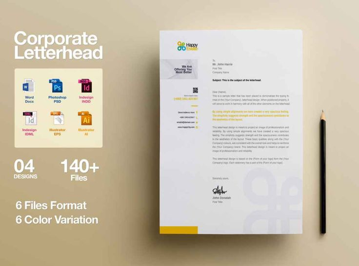 The 25 best Free letterhead templates ideas on Pinterest Free