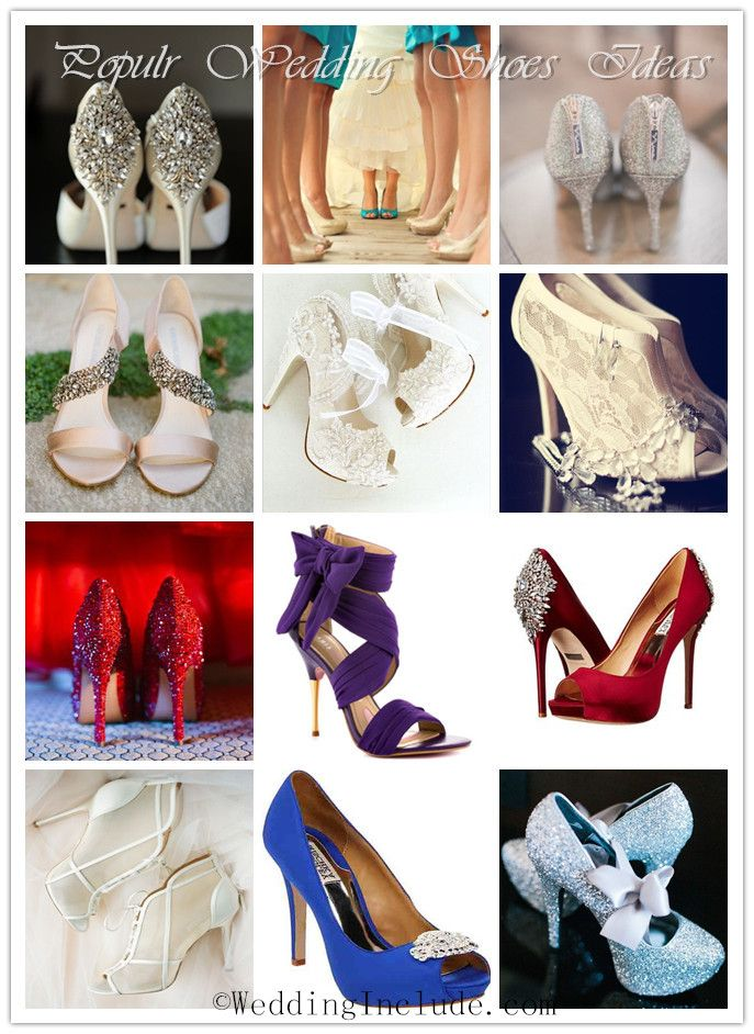 cheap yet popular wedding shoes for brides | http://www.weddinginclude.com/2015/04/28-most-popular-wedding-shoes-for-brides-2015/