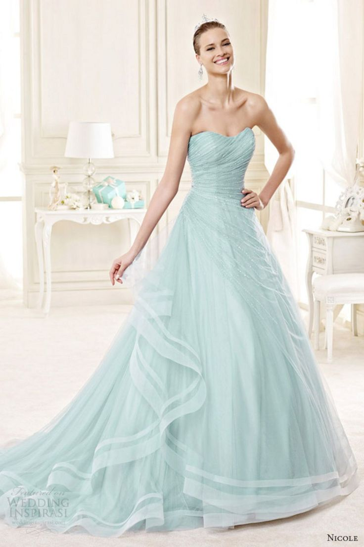 Awesome 20+ Marvelous Blue Wedding Dress Color Ideas For Your Unforgettable Moment  https://oosile.com/20-marvelous-blue-wedding-dress-color-ideas-for-your-unforgettable-moment-16708