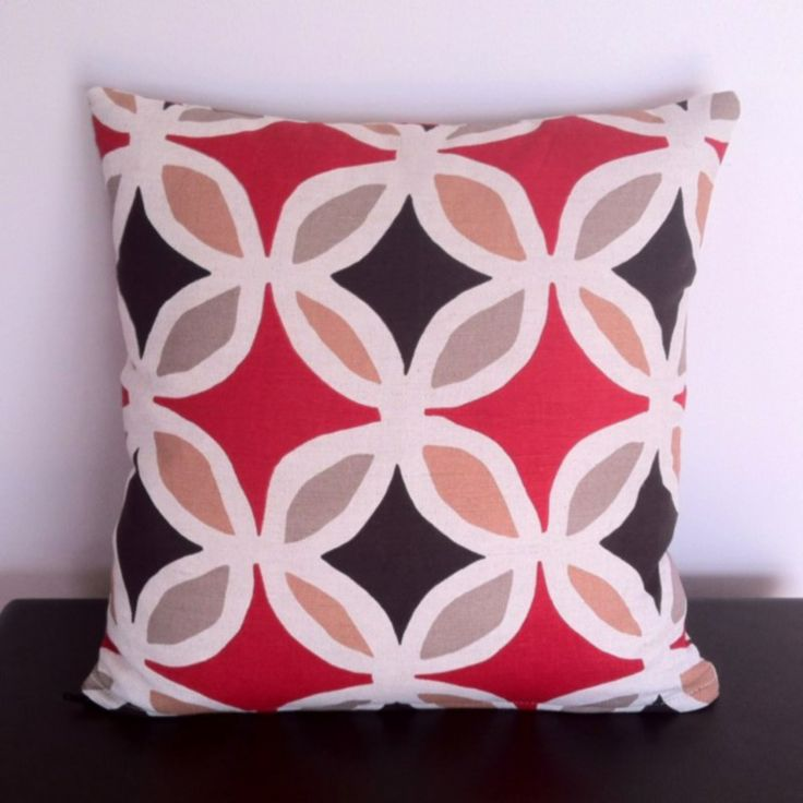 Picture of Warwick Fabrics Molokai Geometric Cushion Cover MULTIPLE COLOURS AVAILABLE from Chair Revival Unique Melbourne Feature Furniture