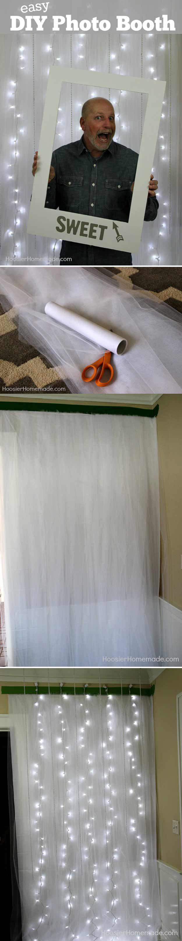 photo booth de tutu y luces??