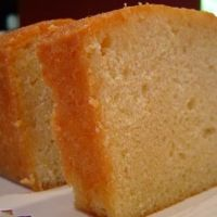 Copy Cat Entenmans Pound Cake- 3/4pound butter, 2c powdered sugar, 3 eggs, 1 2/3 c flour, 1 tablesp vanilla or lemon extract..