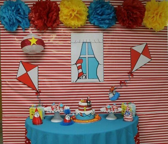 Cat in the Hat Party #catinthehat #party
