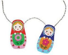 IS Gift | Babushka Lights | Babushka Party Theme and Supplies – available at www.buildabirthday.co.nz