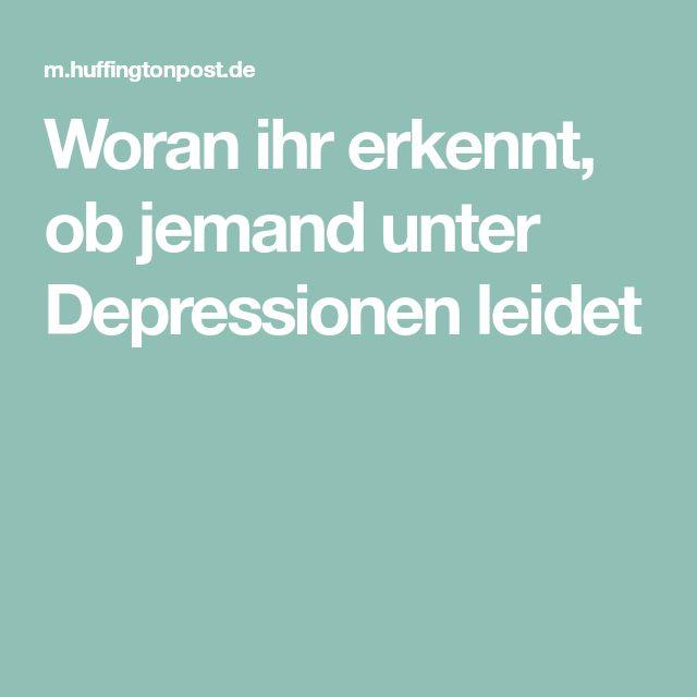 Woran ihr erkennt, ob jemand unter Depressionen leidet