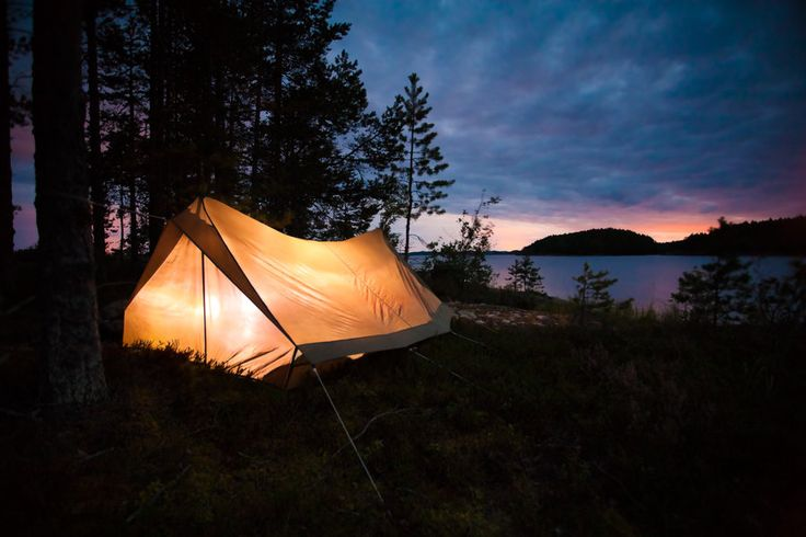 Night in Haukivesi by sampok.deviantart.com on @deviantART