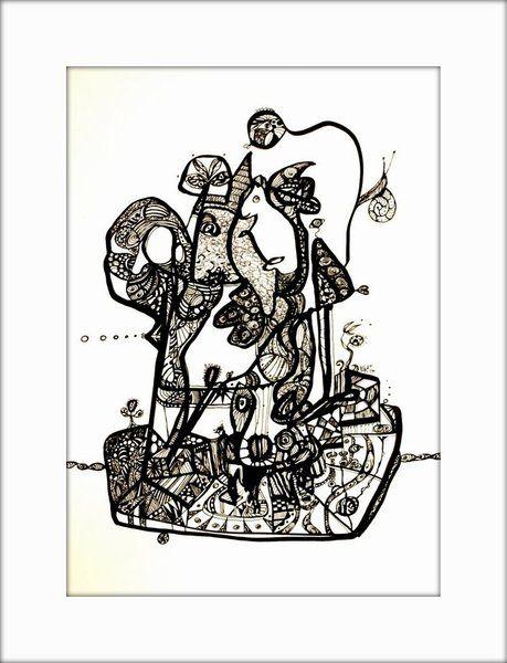 HäkelBild IX von Etelka Kovacs-Koller - mad for art auf DaWanda.com