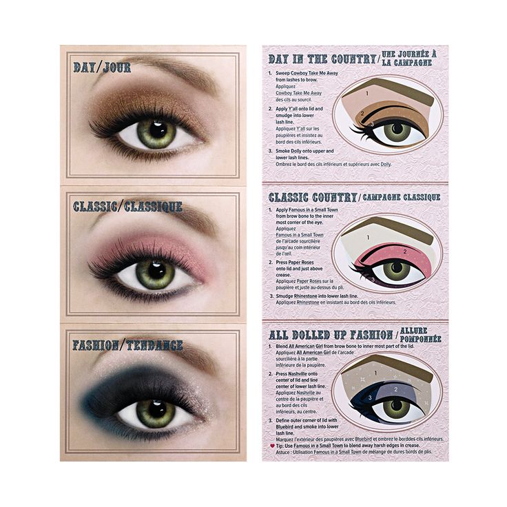 Too Faced Country Palette Glamour Guide