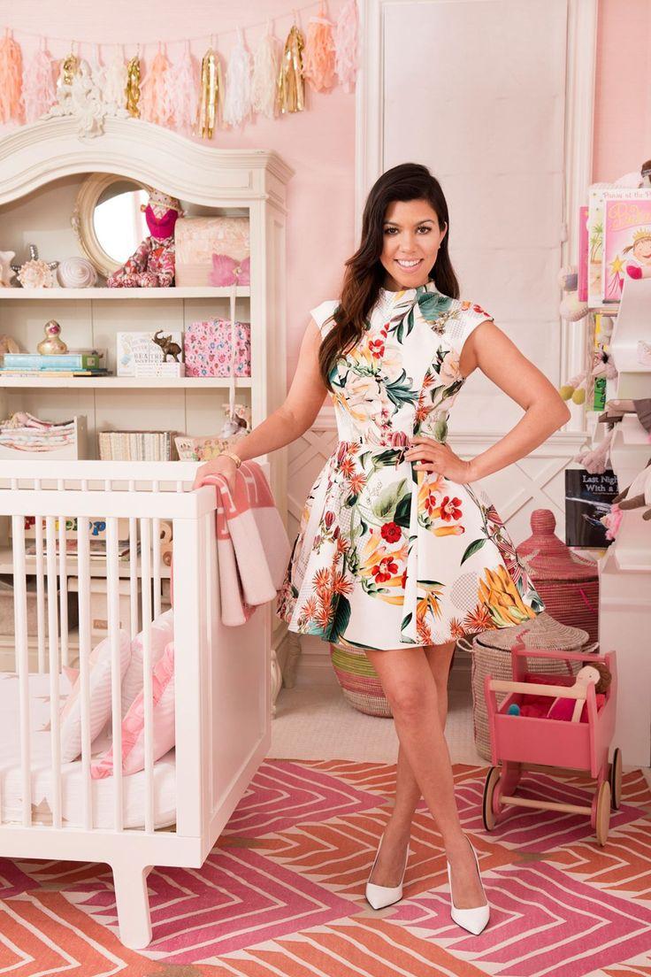 Inside Kourtney Kardashian's nursery