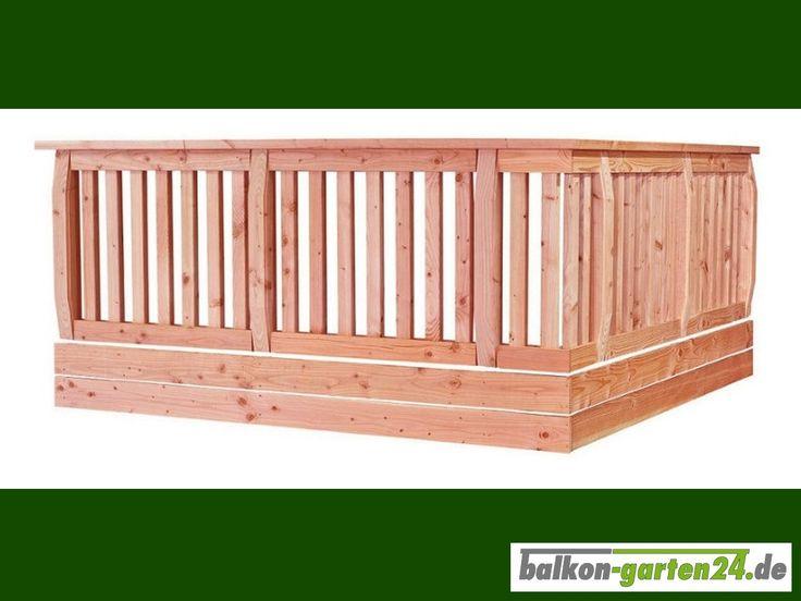 27 best balkongel nder holz images on pinterest produkte online einkaufen und douglasie. Black Bedroom Furniture Sets. Home Design Ideas