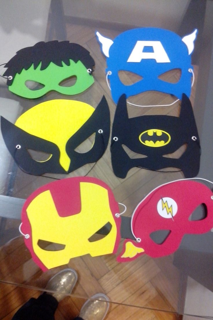 antifaces y mscara de superheroes de los aos buscar con google