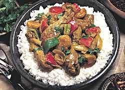 Creamy Korma Chicken Curry