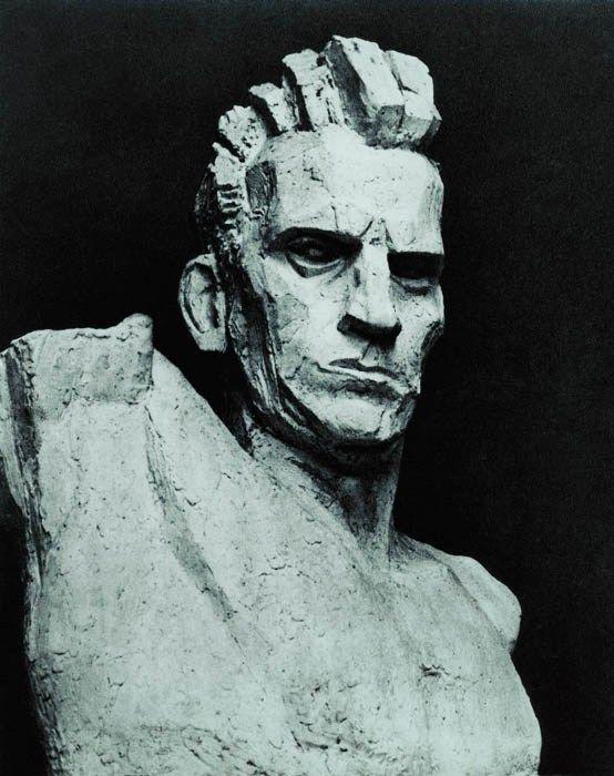 Xawery Dunikowski, Robotnik,1947-1948, odlew gipsowy patynowany, w zbiorach Muzeum Narodowego we Wrocławiu, fot. pracownia fotograficzna MNWr - photo 9