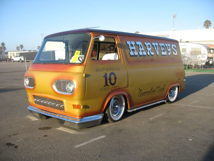 Chevy Custom Vans Lowered first gen. Custom bumper and grill. Whitewalls on ...