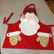 delantal Papa noel http://www.pinterest.com/autumnrain8/sewing-inspiration/