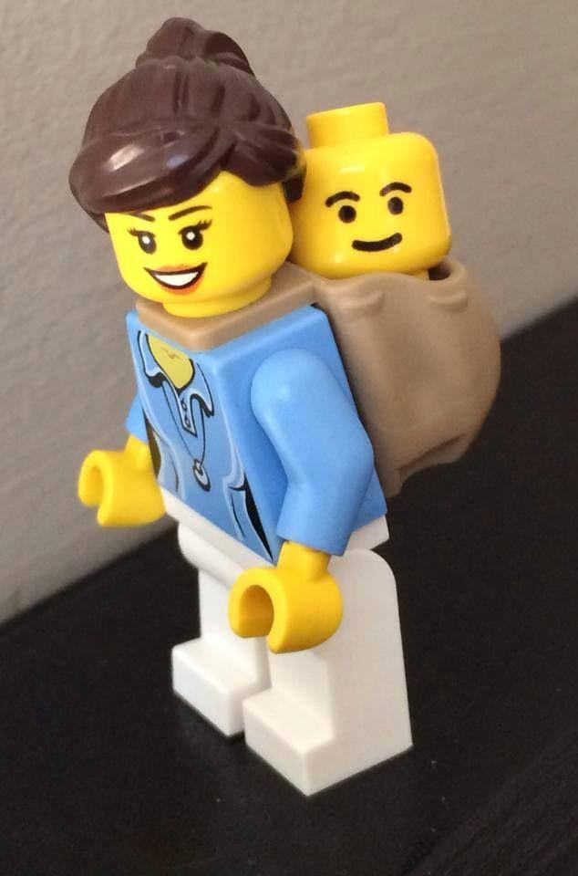 Love this Lego Babywearing mama :) Photo by Ava KC