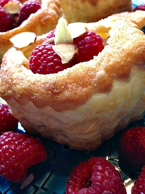 Sour Cream Lemon Puff Pastry Shells