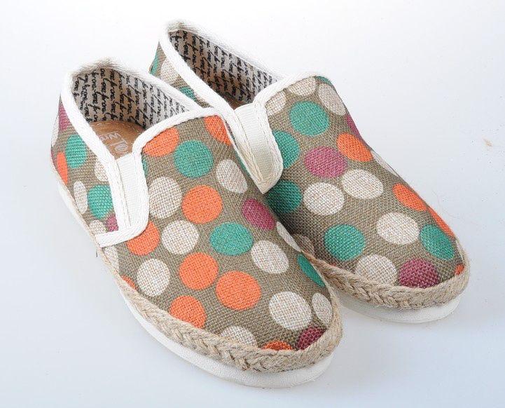 Toms Classic Men Shoes Gray dot
