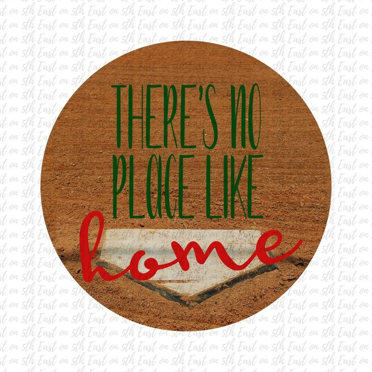 There's No Place Like Home PNG Sublimation Instant