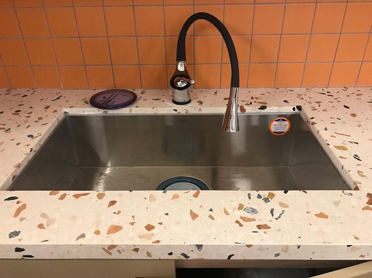 1301 besten terrazzo designs bilder auf pinterest ... - Terrazzo Kitchen Sinks