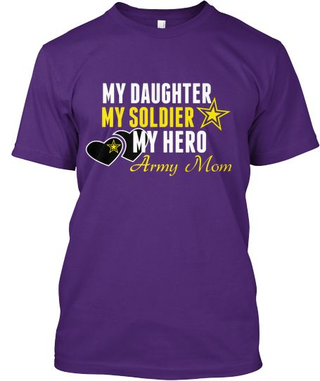 Army Mom for Daughters Limited Tee