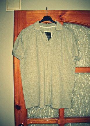 Kup mój przedmiot na #vintedpl http://www.vinted.pl/odziez-meska/koszulki-z-krotkim-rekawem-t-shirty/10326932-koszulka-bluzka-polo-szara-rozmiar-xxl-marco-benatti