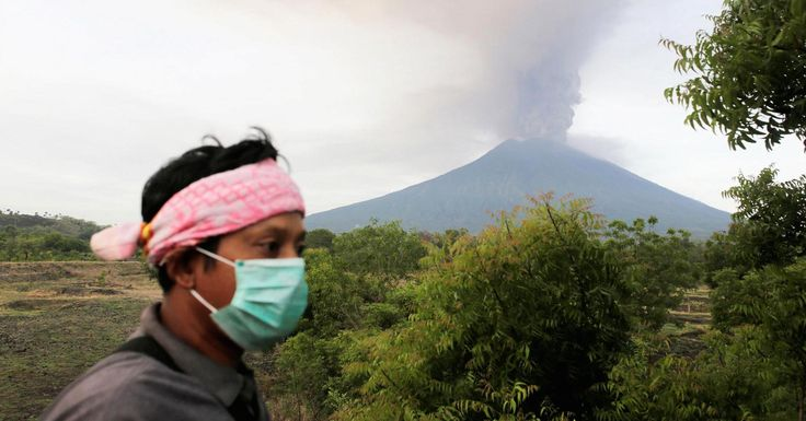 Indonesia extends Bali airport closure due to volcano eruption