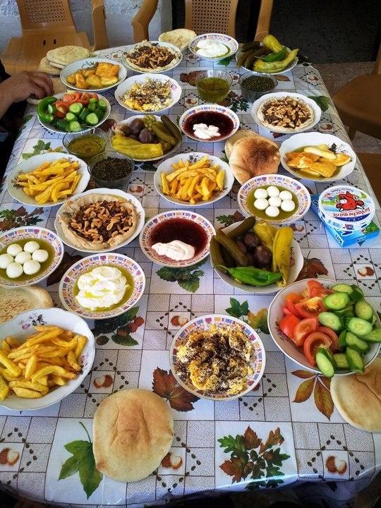 Palestinian breakfast